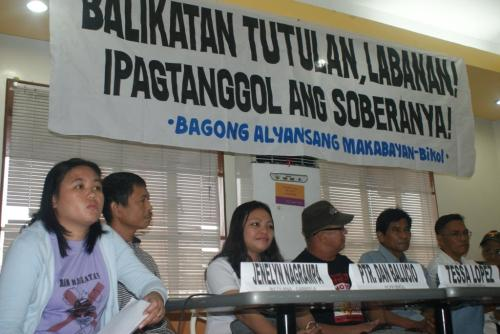 Anti-Balikatan Press Conference