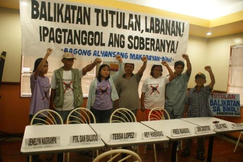 No to Balikatan in Bicol! Defend our Sovereignty and Integrity!